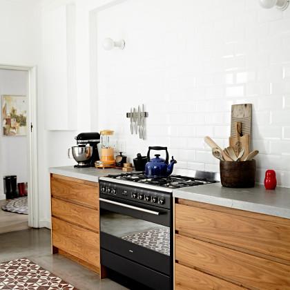 svelte walnut cupboards