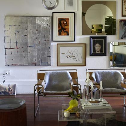 Marcel Breuer style armchair