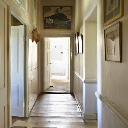 wide floorboards