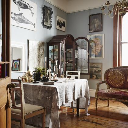 Maison Martin Margiela  linen tablecloth