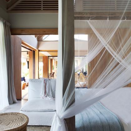 view through bedroom