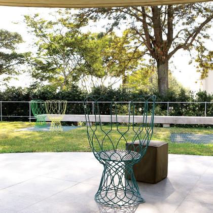 circular concrete roof