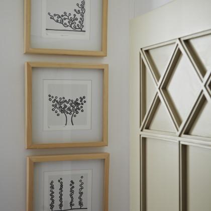 framed Richard Scott art work